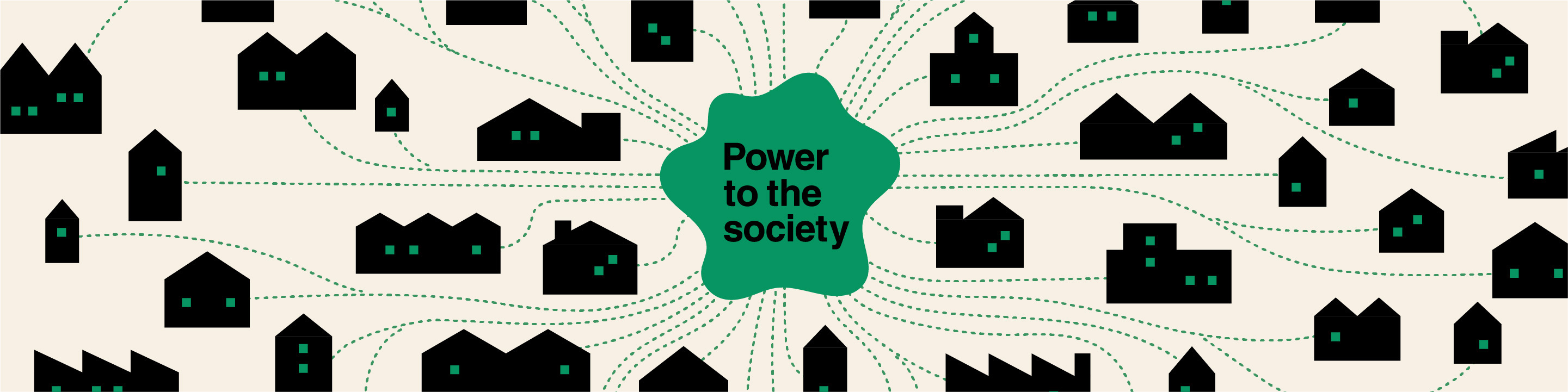 Power to the society